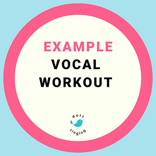 Dots Singing Example Vocal Workout