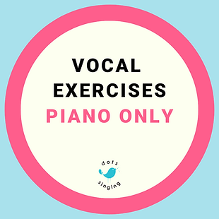 Dots Singing Vocal exercises piano accompaniment