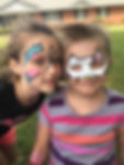 Kids Face Painting at Japer Houing Autority Spring Fling