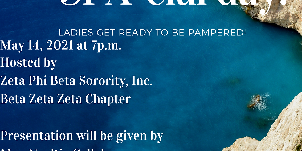 It's the Zeta's SPA-cial Day!
