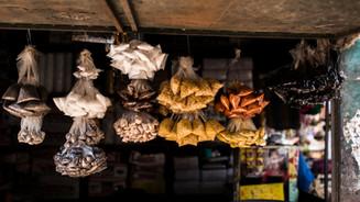 An array of exotic spices