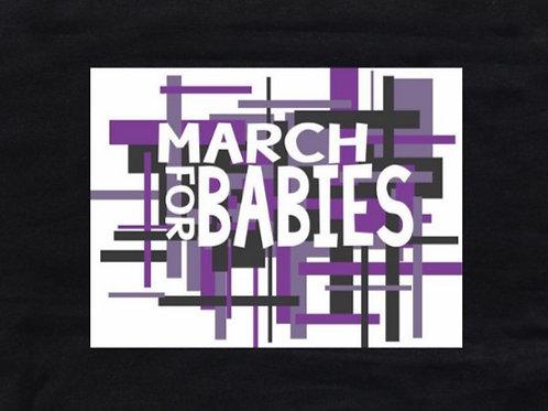 Black March 4 Babies T-shirt Unisex Fit