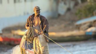 A local fisherman in Tanji