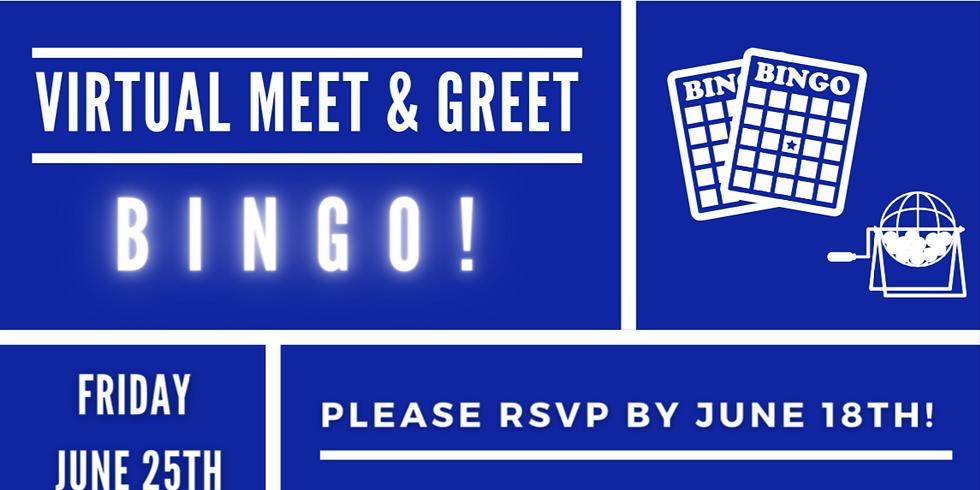 Virtual Meet & Greet Bingo!