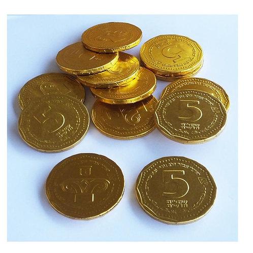 """מטבעות מולטיזן 5 ש""""ח  1 ק""""ג  1/10  (724)"""