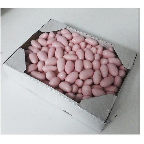 """סוכריות דרג'ה במגש קרטון 1 ק""""ג ורוד 1/12 (2246)"""
