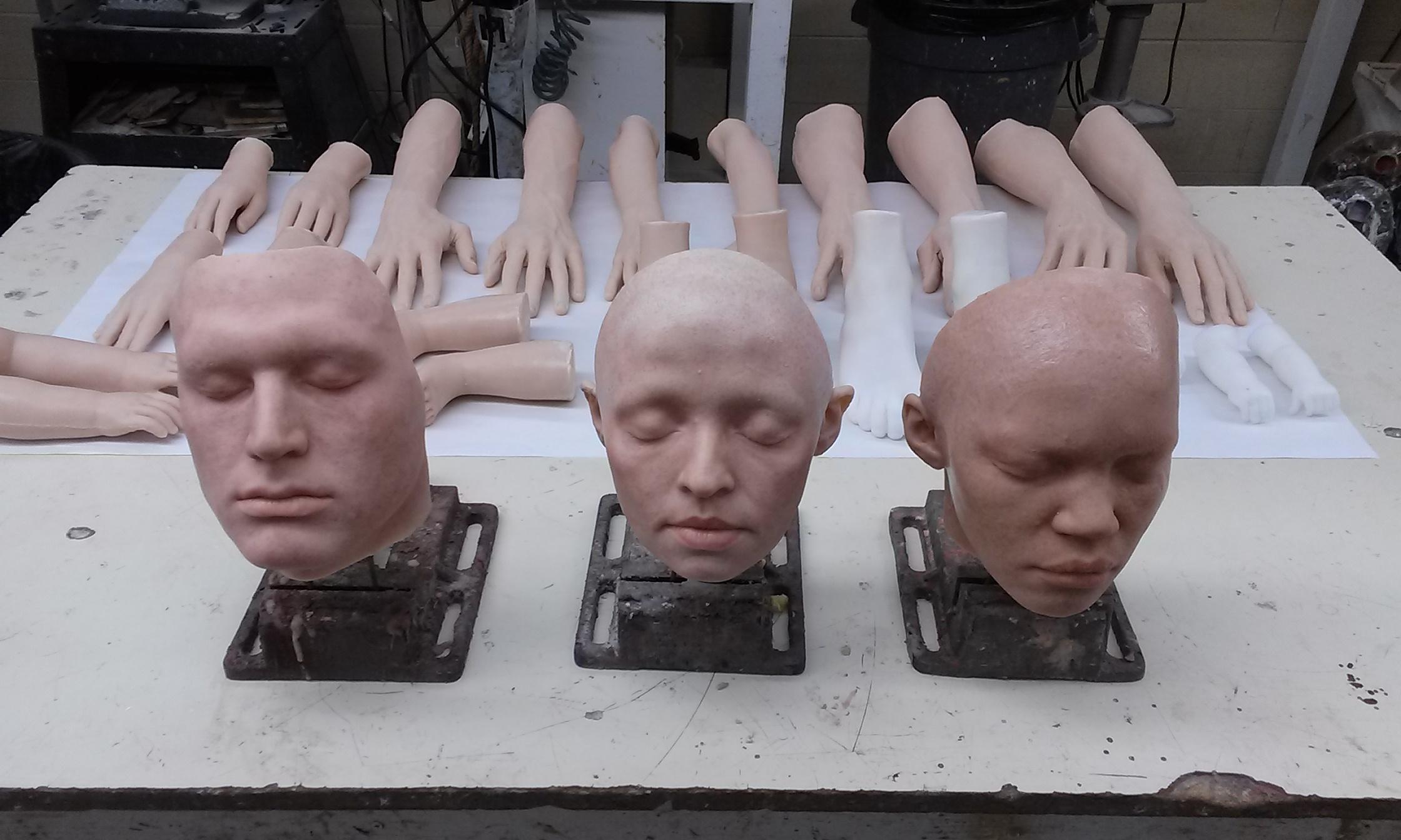 Extant robot skin