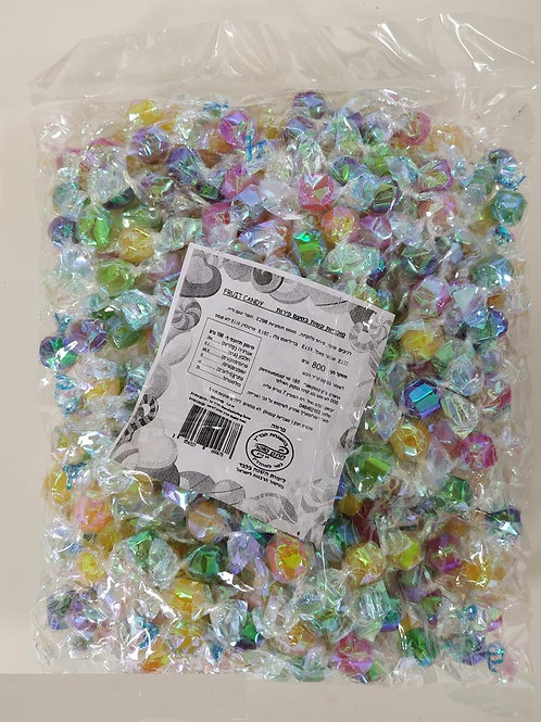 סוכריות יהלומים שקוף 800 ג'  1/14  (968)