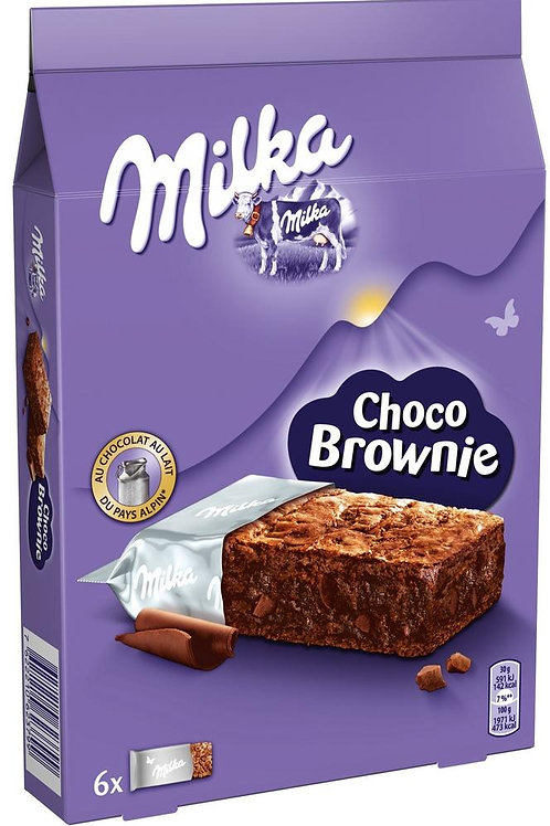 מילקה עוגת בראוניז 150 גרם  1/13  (2179)