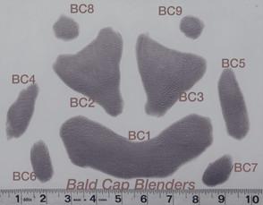 Bald Cap Blenders BC1- BC9 $10, $20, $25