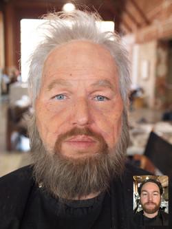 Tide Male Old Age Test Makeup