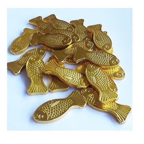 """מטבעות מולטיזן דגים זהב 1 ק""""ג  1/10  (723)"""