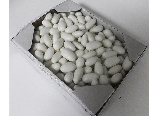 """סוכריות דרג'ה במגש קרטון 1 ק""""ג לבן  1/12 (2245)"""
