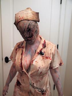 Silent Hill Halloween Makeup