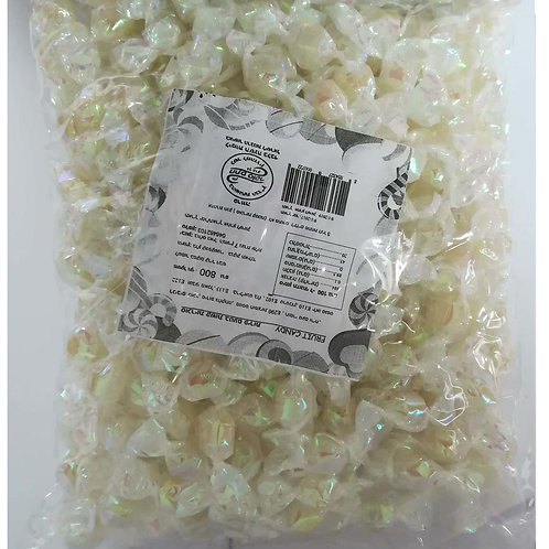 סוכריות יהלום שקוף לבן 800 ג' 1/14  (177)