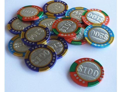 """מטבעות מולטיזן ז'יתונים 1 ק""""ג 1/10  (727)"""
