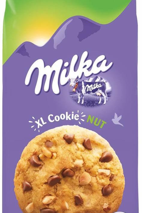 מילקה עוגיות XL אגוז 184 גרם 1/10  (3930)