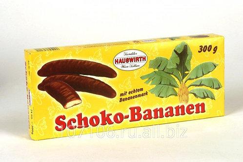 בננה מצופה שוקולד 300 ג' 1/24  (1257)