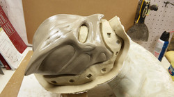 CSI hero mask mold