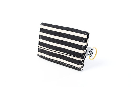 Card Wallet / BW Stripe