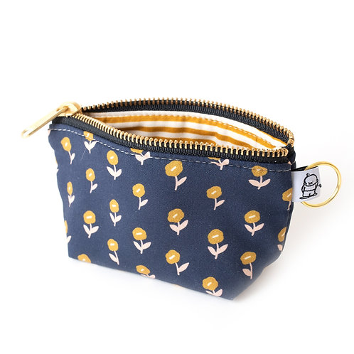 Charlie Change Purse/ Tiny Flower