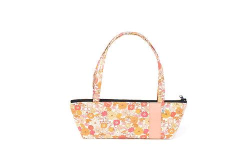 Tomboy Zippered Fabric Handbag, LIBERTY