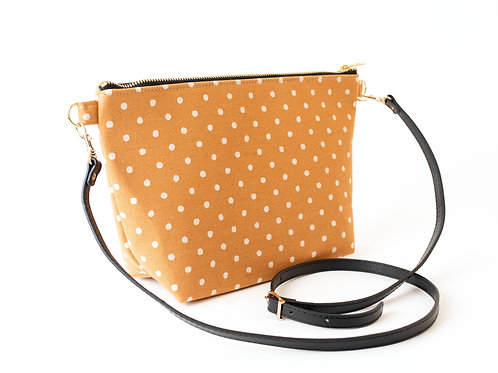 B.O.O.N Bag / Crossbody Bag /Caramel Dot