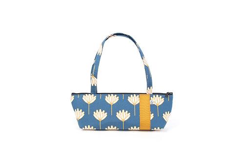 Tomboy Zippered Fabric Handbag, LOTUS