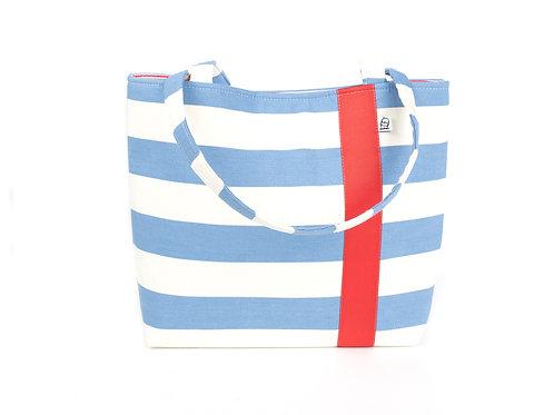 Workforce Fabric Tote Bag, Vegan Handbag, Carry All ,CF Stripe