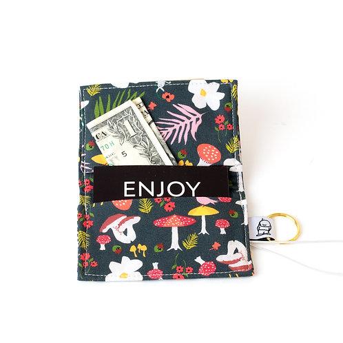 Card Wallet / Mushroom