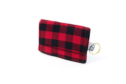 Card Wallet / Buffalo Check