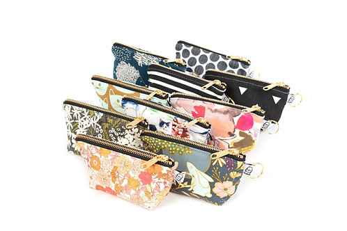 Best Seller Charlie Change Purse ( Set of ten color pop prints)
