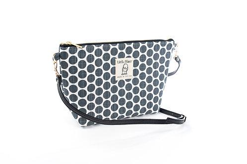 B.O.O.N Bag / Crossbody Bag / Grey Dot