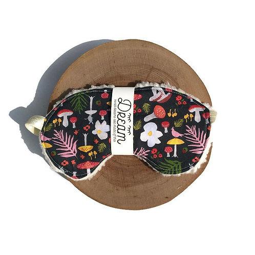 Sleep mask /  Cotton Sleep Mask / Mushroom
