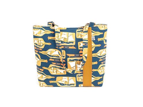 Workforce Fabric Tote Bag, Vegan Handbag, Carry All ,1902