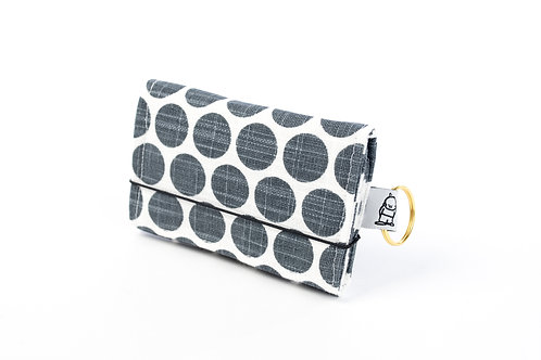 Card Wallet / Grey Dot