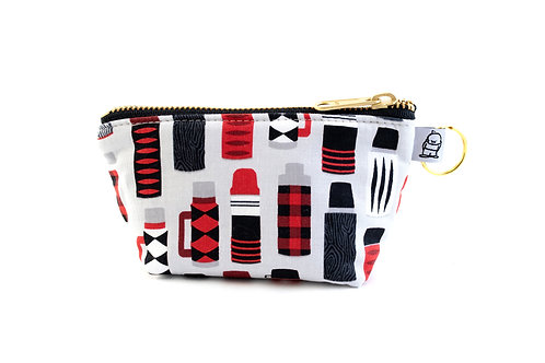Charlie Change Purse / Red + Black Thermos