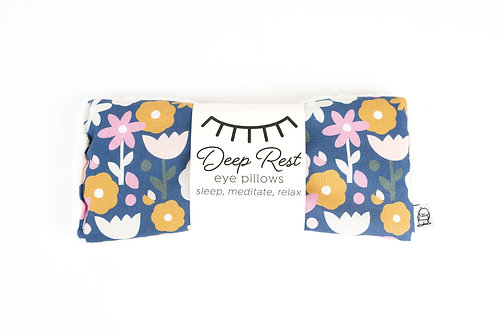 Deep Rest Eye Pillows by Little Man /70's Floral