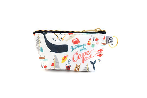 Charlie Change Purse / Greetings from the Cape