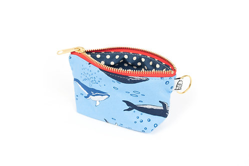 Charlie Change Purse/ Kaufman Whale