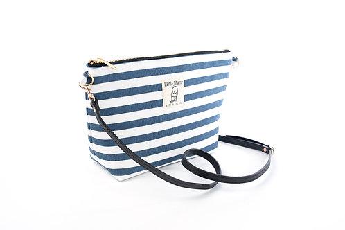 B.O.O.N Bag / Crossbody Bag / Navy Stripe