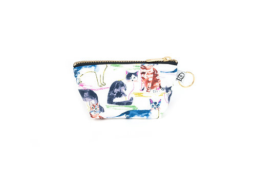 Charlie Change Purse/ WC Cat