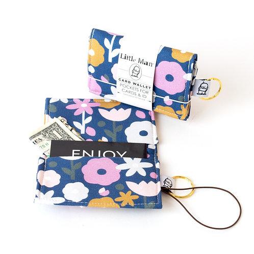 Card Wallet / Seventies Floral