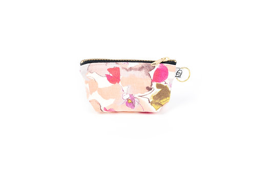 Charlie Change Purse/ Watercolor Floral