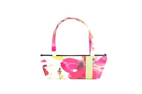 Tomboy Zippered Fabric Handbag,WC FLORAL