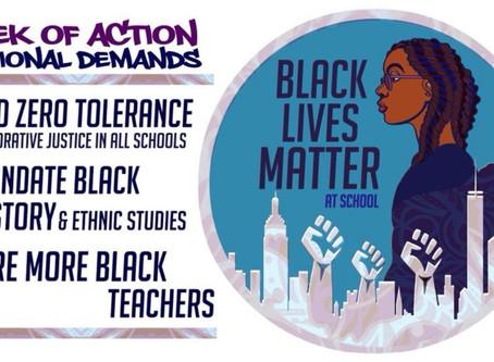 Black Lives Matter at School week of action