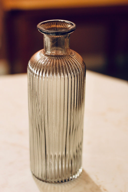 Green Smoked Vase