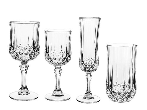 Crystal Table Glassware Collection