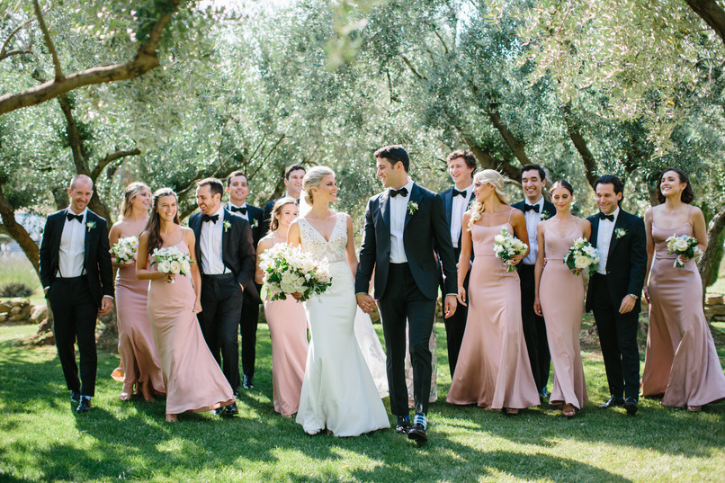 S+D in the olive grove of Domaine les Roullets, Provence