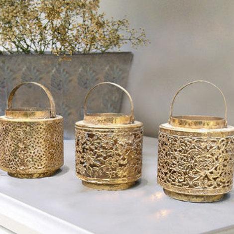 Gold Oriental Lanterns
